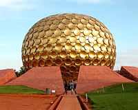Matrimandir Auroville, Pondicherry